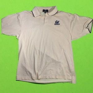 vintage Cal Berkeley  Golf Polo medium shirt